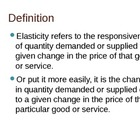 Complete lecture on Elasticity of demand and supply with q