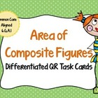 Composite Figures QR Scan Task Cards