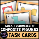 Finding the Perimeter and Area of Composite (Irregular) Fi