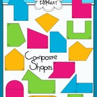 Composite (Irregular) Shapes Clip Art