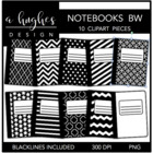 Composition Books {Graphics for Commercial Use}
