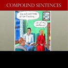 Compound Sentences PowerPoint lesson with quiz