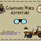 Compound Word Adventure Literacy Stations/Centers