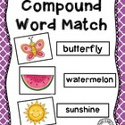 Compound Word Picture Match &amp; Sort