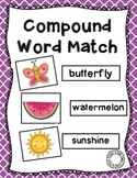 Compound Word Picture Match & Sort