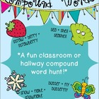 Compound Words Classroom or Hallway Hunt