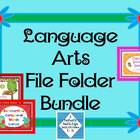Compound Words, Digraphs, and Syllables File Folder Games