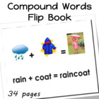 Compound Words Flip Book