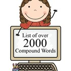 Compound Words (List of over 2000)