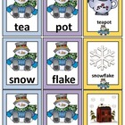 Compound Words: Literacy Center Activity: Winter