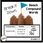 Compound Words Practice Worksheets