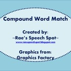 Compound Words Puzzle & Match