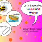 Compound Words SmartBoard Lesson for Primary Grades