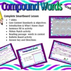 Compound Words Smartboard Lesson