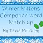 Compound words Winter Mitten match up