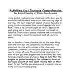 Comprehension Activities for Whole or Guided Reading Groups
