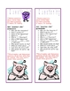 Comprehension Bookmarks
