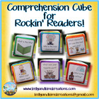 Comprehension Cube for Rockin&#039; Readers