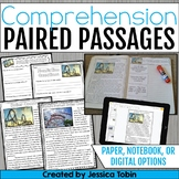 Comprehension Paired Passages (Interactive Notebook & Prin