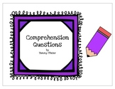 Comprehension Question Cards