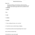 Comprehension Questions for Where the Red Fern Grows by Wi