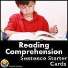 Comprehension Sentence Starter Cards