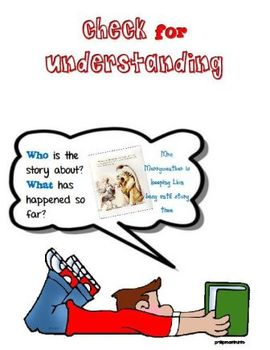 Comprehension Strategies Book