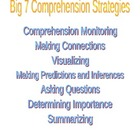 Comprehension Strategies - worksheet
