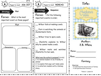 Comprehension Tri-Folds - Story Town - Themes  5 and 6