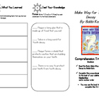 Comprehension Tri-fold: Make Way for Tooth Decay