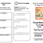 Comprehension Tri-fold: Teach Us, Amelia Bedelia