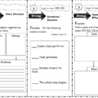 Comprehension Tri-folds - Story Town - Themes 3 and 4