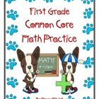 Comprehensive Common Core Math Packet-First Grade