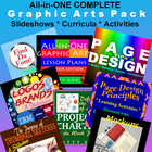 Graphic Arts Bundle: Activities~Projects~Powerpoints=Compl