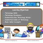 Computer Learning Center Sign~ With Objectives