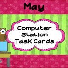 Computer Learning Station Task Cards: May
