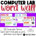 Computer Terms Word Wall