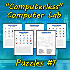 &quot;Computerless&quot; Computer Lab Puzzles