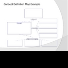 Concept Definition Map Tutorial