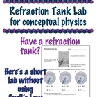 Conceptual Physics Refraction Tank Lab