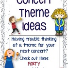 Concert Theme Ideas