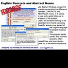 Concrete and Abstract Nouns Practice for Windows PC