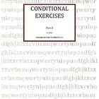 Conditional Exercises -Part 2-