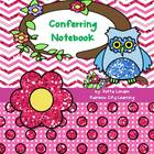 Conferring Notebook: Chevron Dot Theme