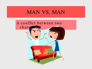 Conflict PowerPoint- 5 Types of Conflict in Stories