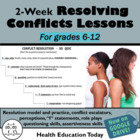 Conflict Resolution Unit: PowerPoint., Model, + 3 Practices