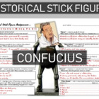 Confucius Historical Stick Figure (Mini-biography)