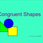 Congruent Shapes Smartboard Lesson