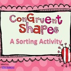 Congruent Shapes Sort