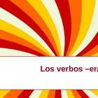 Conjugating er/ir verbs in Spanish